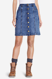 Women's Ilaria Denim Skirt in Blue