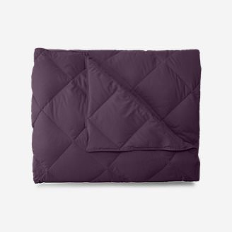 Cascade Down Comforter - Colored in Purple