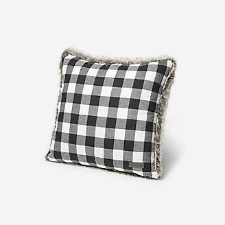 Lodge Faux Fur Pillow in White