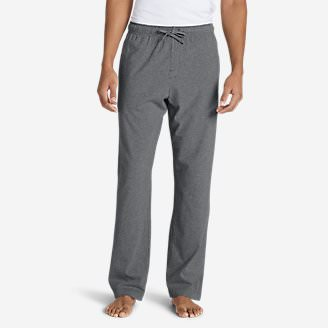 Men's Jersey Sleep Pants in Gray