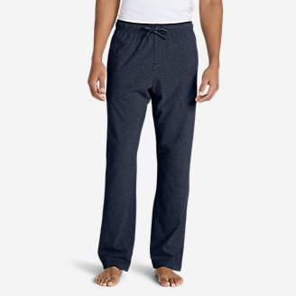 Men's Jersey Sleep Pants in Blue