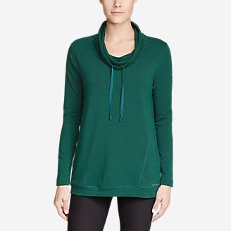 Women's Fairview Pullover in Green
