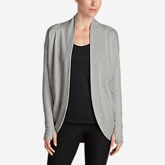 Women's Summit Wrap in Gray