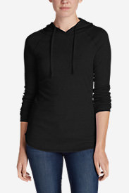 Women's Favorite Pullover Hoodie - Solid in Black