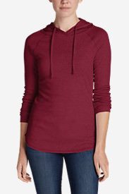 Women's Favorite Pullover Hoodie - Solid in Red