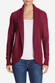 Women's Kiera Cardigan Sweater in Purple