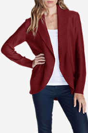 Women's Kiera Cardigan Sweater in Red