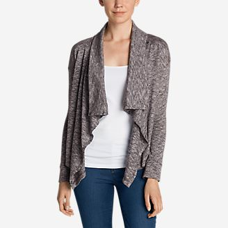 Women's 7 Days 7 Ways Cardigan in Purple