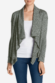 Women's 7 Days 7 Ways Cardigan in Green