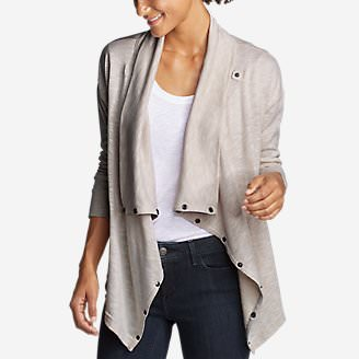 Women's 7 Days 7 Ways Cardigan in Beige