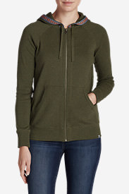 Women's Legend Wash Full-Zip Sweatshirt in Green