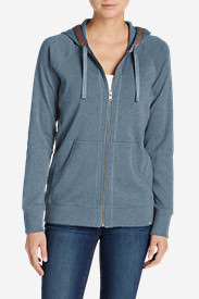 Women's Legend Wash Full-Zip Sweatshirt in Blue