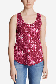 Women's Ravenna Tank Top - Print in Purple
