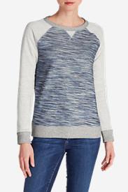Women's Sunrise French Terry Sweatshirt in Blue