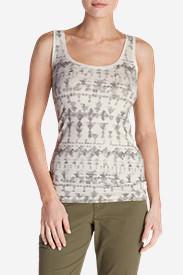 Women's Lookout Tank Top - Print in Gray