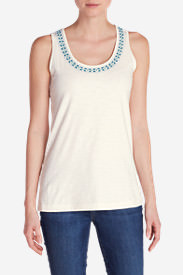 Women's Dakota Tank Top in White