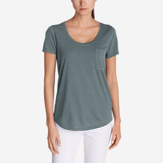 Women's Gypsum T-Shirt in Gray