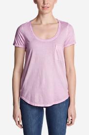 Women's Gypsum T-Shirt in Purple