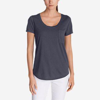 Women's Gypsum T-Shirt in Blue