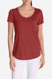 Women's Gypsum T-Shirt in Red