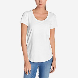 Women's Gypsum T-Shirt in White