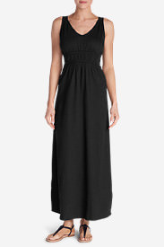 Women's Laurel Canyon Maxi Dress - Solid in Black