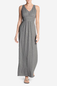 Women's Laurel Canyon Maxi Dress - Solid in Gray