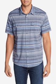 Men's Vashon Short-Sleeve Shirt - Stripe in Blue