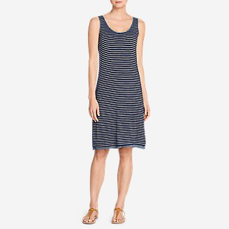 Women's Girl On The Go Reversible Dress - Stripe in Blue