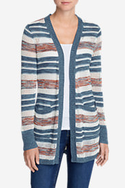 Women's Fiona Boyfriend Cardigan Sweater in Blue
