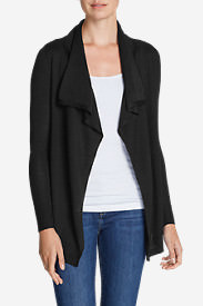 Women's Flightplan Cardigan Sweater - Solid in Black