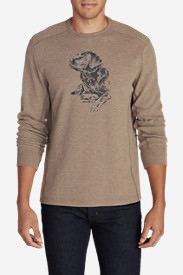 Men's Eddie's Favorite Thermal - Man's Best Friend in Beige