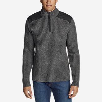 Men's Field Sweater in Gray