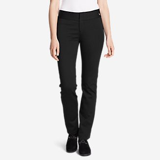 Women's Passenger Ponte Pant in Black