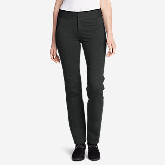 Women's Passenger Ponte Pant in Gray