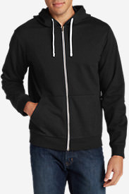 Men's Camp Fleece Full-Zip Hoodie in Black
