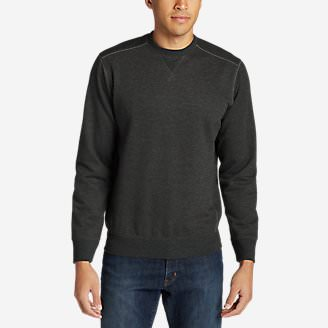 Men's Camp Fleece Crew Sweatshirt in Gray