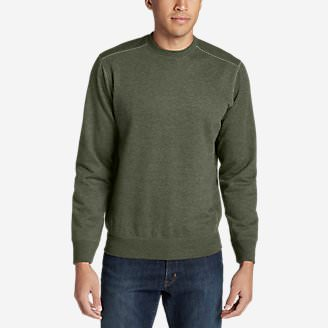 Men's Camp Fleece Crew Sweatshirt in Green