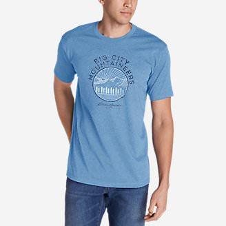 Men's GraphicT-Shirt - Big City Mountaineers in Blue