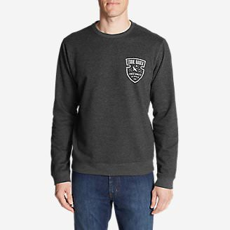 Men's Camp Fleece Crew in Gray