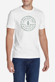 Men's Graphic T-Shirt - Pine Revival in White