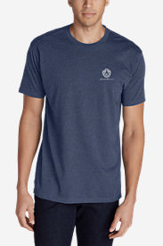 Men's Graphic T-Shirt - Bygone in Blue