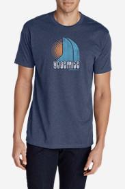 Men's Graphic T-Shirt - Yosemite in Blue