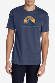 Men's Graphic T-Shirt - Untamable Spirit in Blue