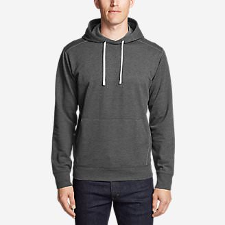 Men's Camp Fleece Pullover Hoodie in Gray