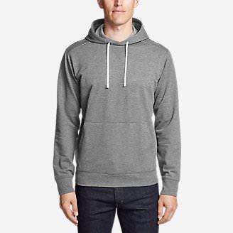 Men's Camp Fleece Pullover Hoodie in Gray