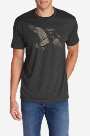 Men's Graphic T-Shirt - Mallard in Gray