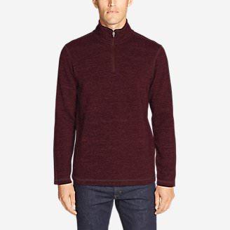 Men's Kachess 2.0 1/4-Zip Pullover in Red