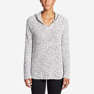 Women's Lounge Around Hoodie Sweater in White