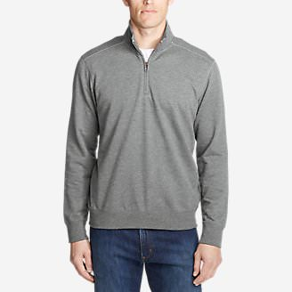 Men's Camp Fleece 1/4-Zip in Gray